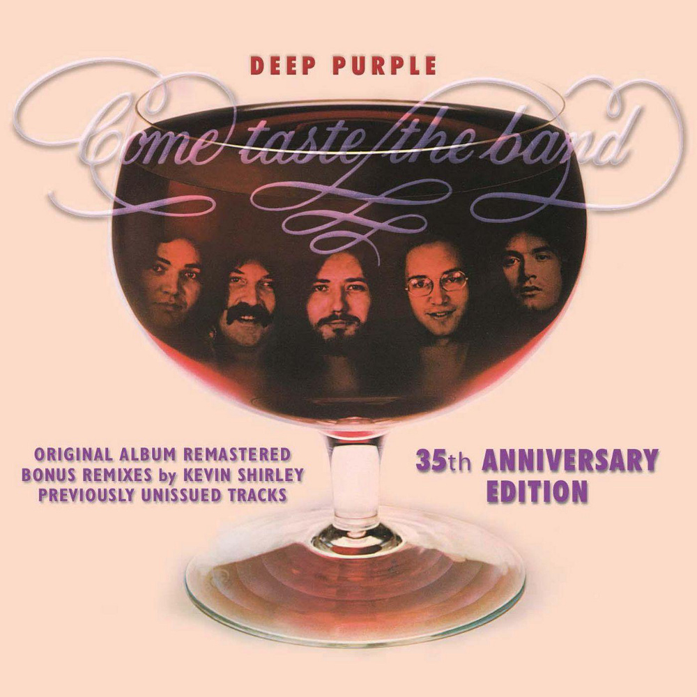 Deep Purple - Come Taste The Band 35th Anniversary Edition cover