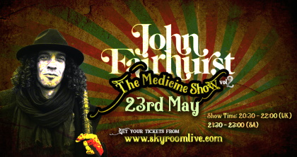 John Fairhurst Medicine Show 23 mei 2020