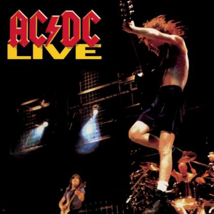 AC/DC Live cover