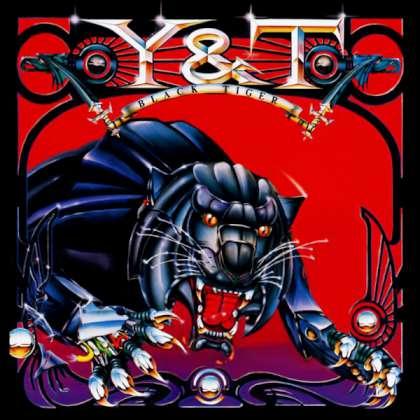 Y&T - Black Tiger cover