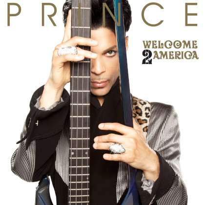 Prince - Welcome 2 America cover