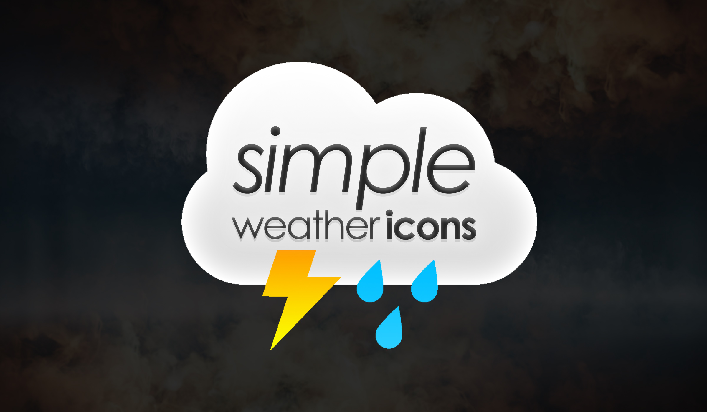 Simple Weather Icons Cover