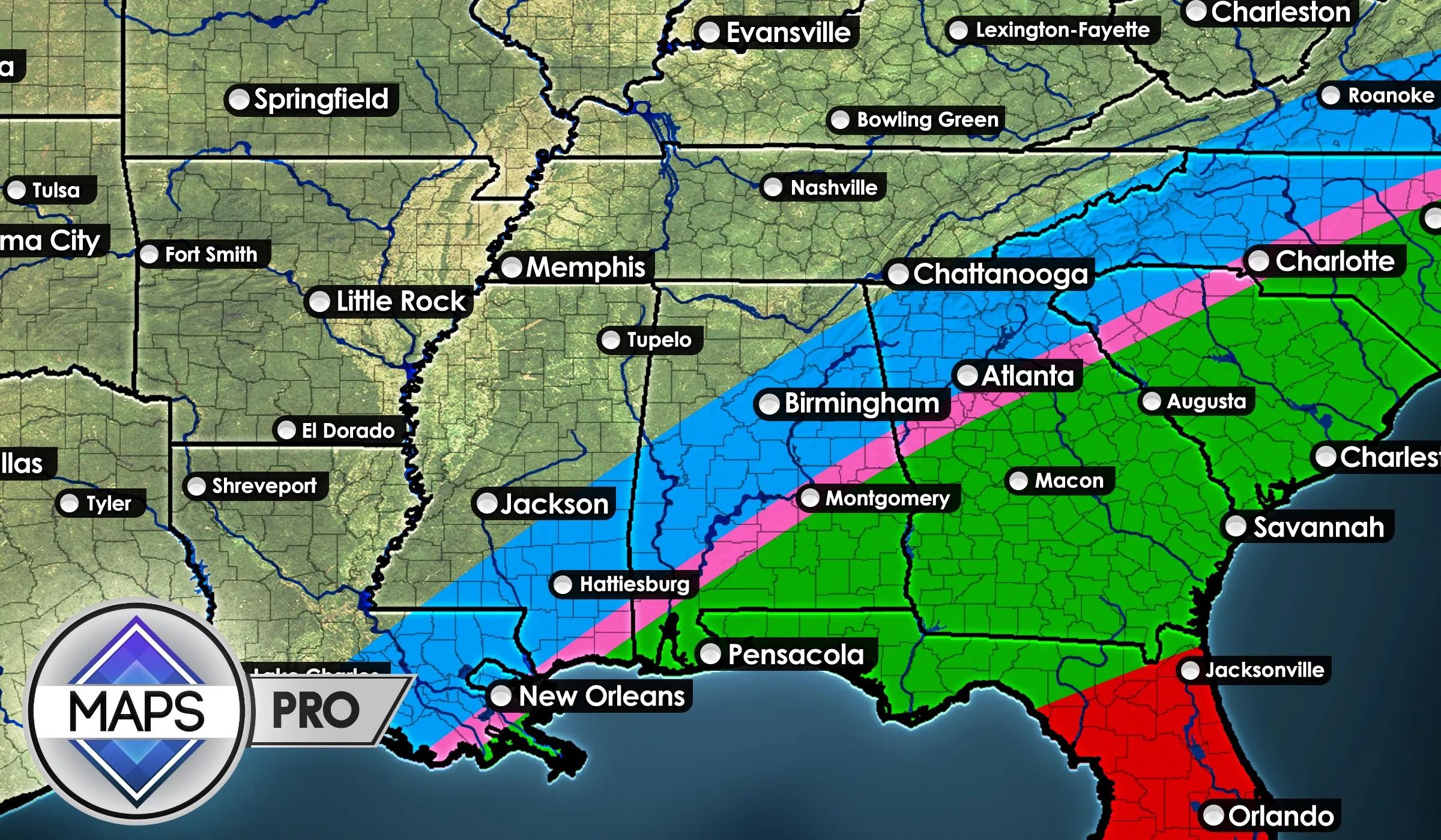 MG Maps | Weather Forecast Graphics | MetGraphics net