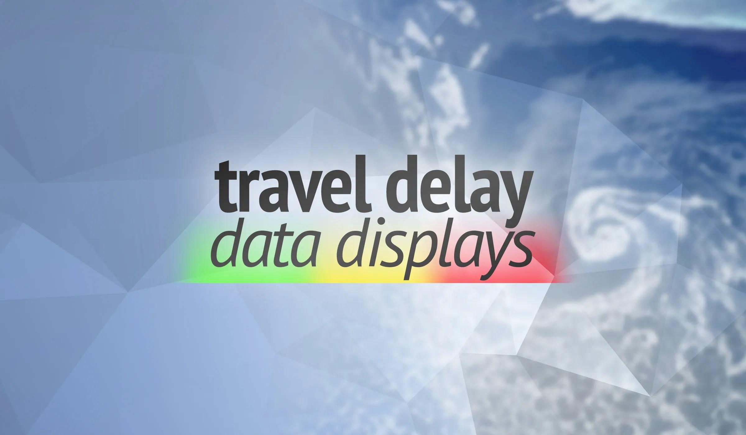 Travel Delay Data Displays