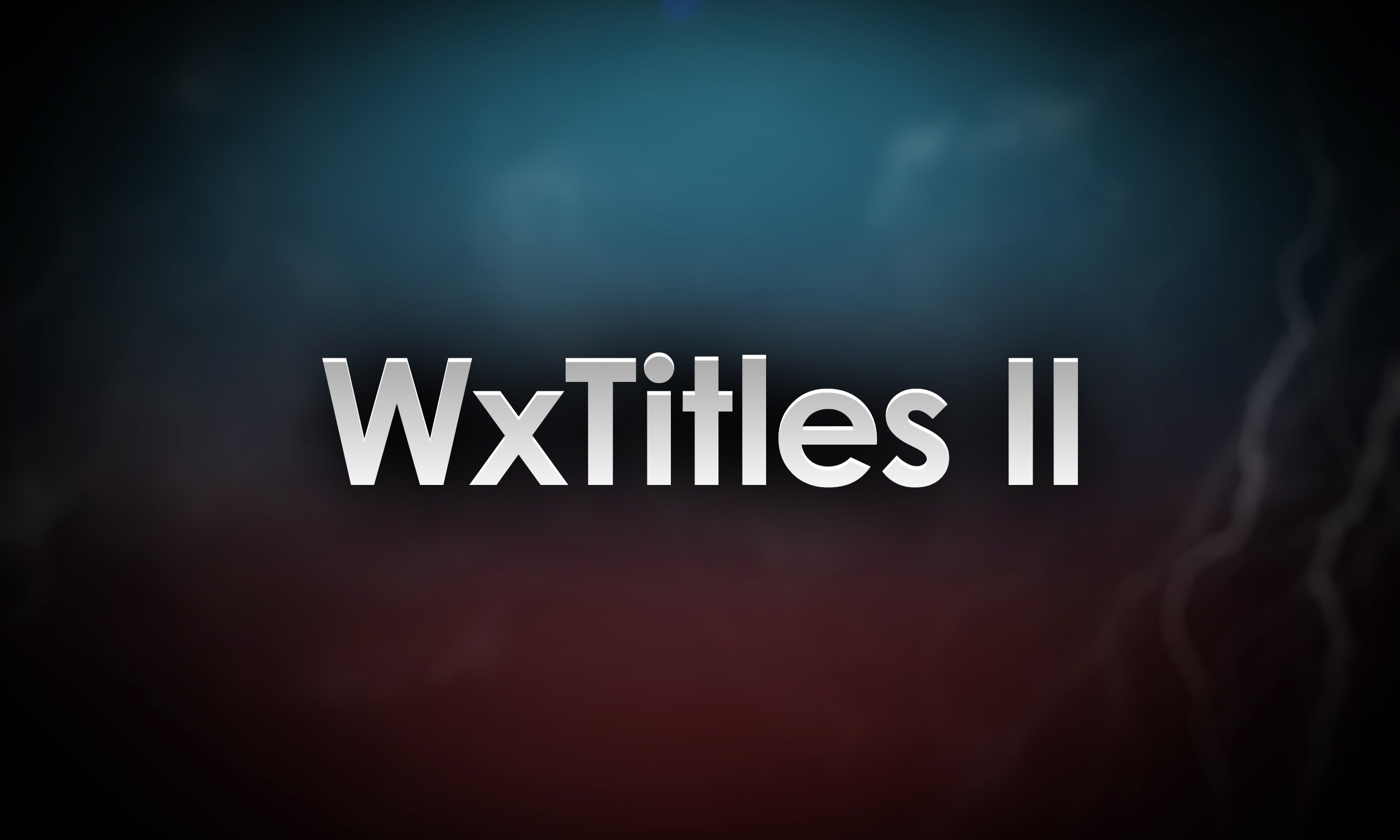 wxtitles II cover