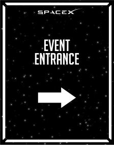 Arrivals_Event Entrance_Space-X_22x28-01