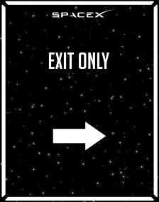 Directional_exit only_Space-X_22x28-01