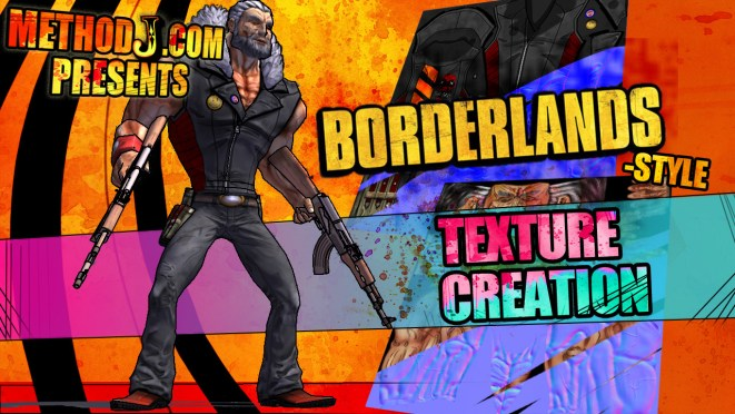 Borderlands style texture creation