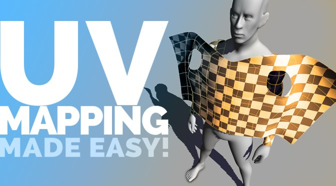 Easy UV mapping in Maya 2015 and 2016