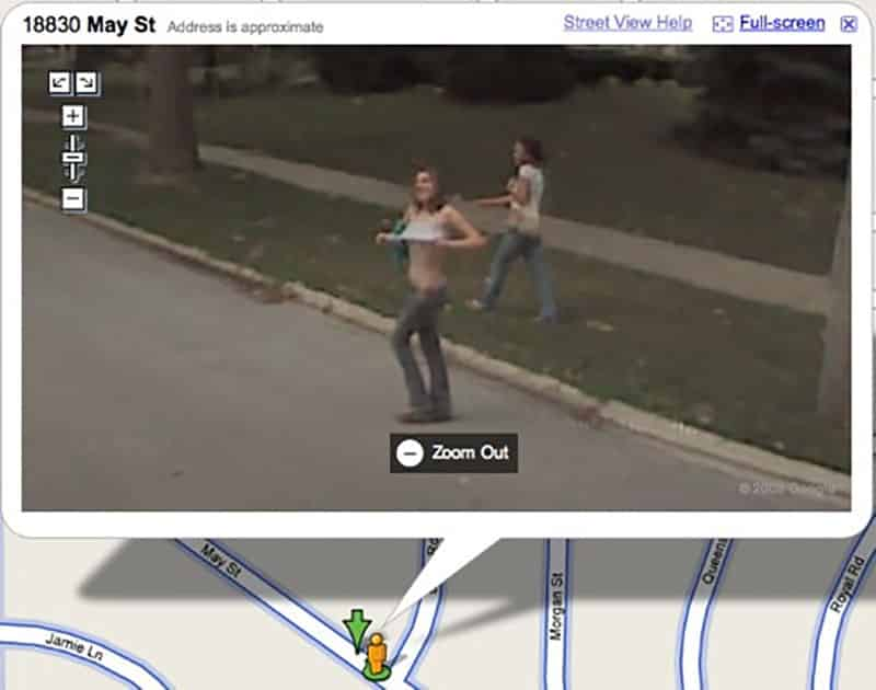 Similar People caught naked on google earth congratulate