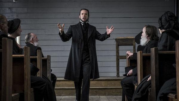 brimstone the reverend Guy Pearce