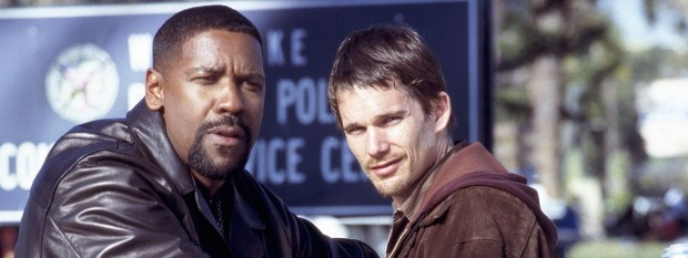 Denzel Washington and Ethan Hawke in Training Day