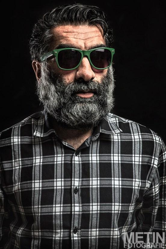Zelfportret - baard