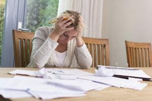 employee worried about debt