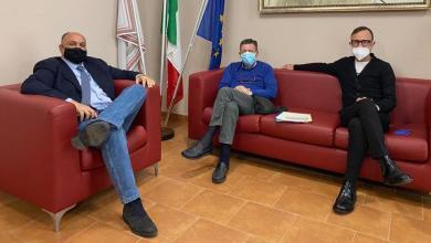 Photo of Gianluigi Scaffidi incontra il sindaco di Locri Giovanni Calabrese