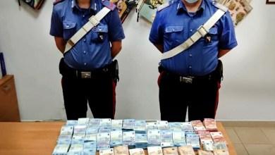 Photo of I Carabinieri trovano in un fondo e sequestrano 300mila Euro