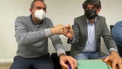 """Photo of Luigi De Magistris e Carlo Tansi: """"Stiamo costruendo una bella storia"""""""