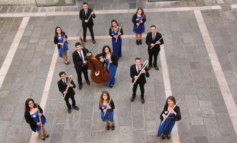 Photo of La Magna Graecia Flute Choir Orchestra venerdì a Marina di Gioiosa