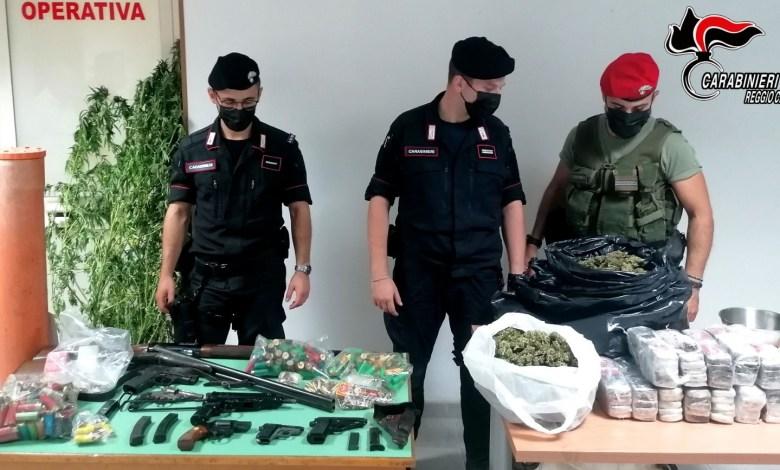 Photo of Casignana: arrestati padre e figli per detenzione illegale di armi e droga