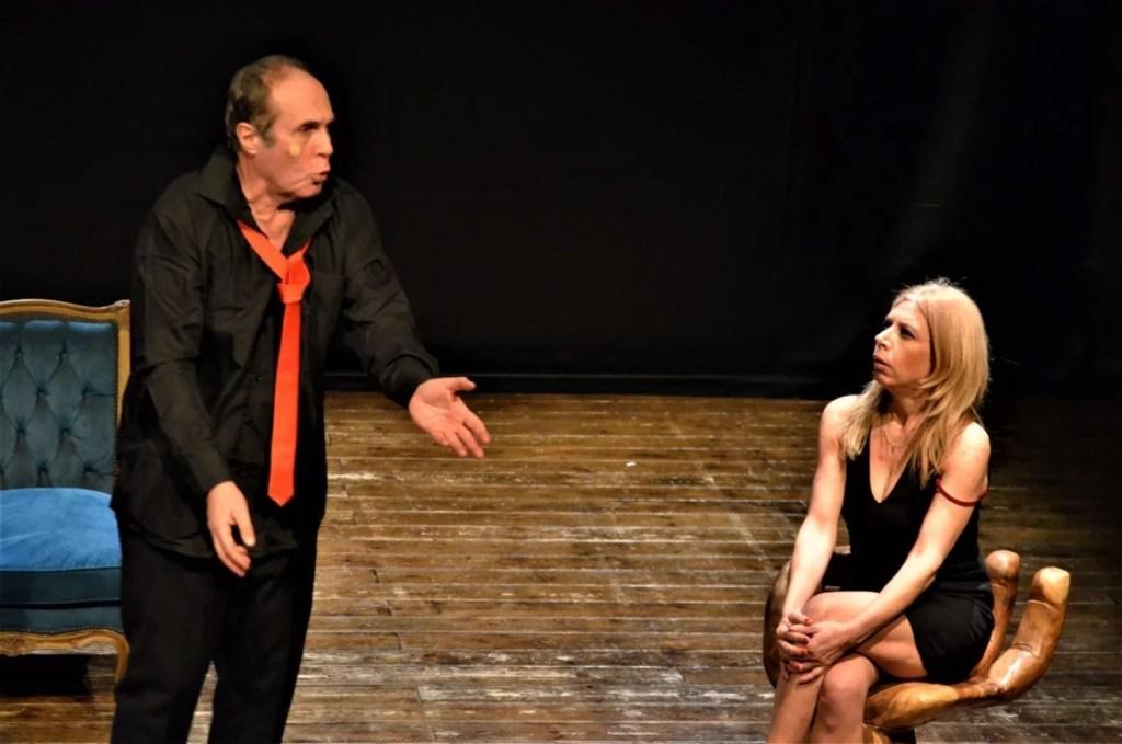parlami d'amore di philippe claudel teatro furio camillo roma con paolo ricchi e alessia oteri commedia