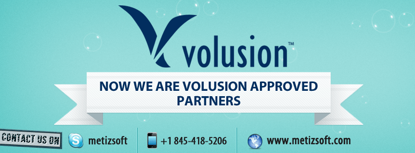 Now Metizsoft Solutions is Volusion Approved Partner