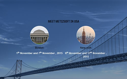 Meet metizsoft in boston and newyork