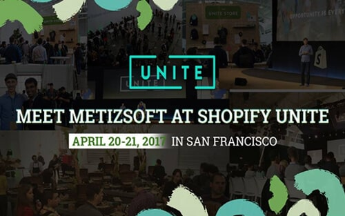 Meet Metizsoft at Shopify Unite