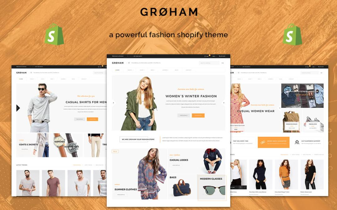 Groham Shopify Theme Development Team