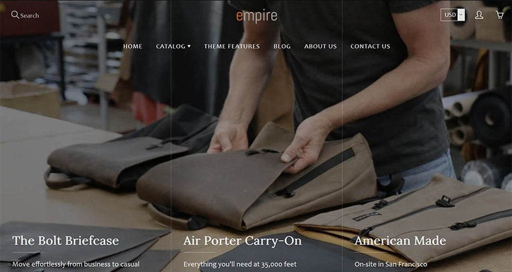 Galleria Shopify Themes