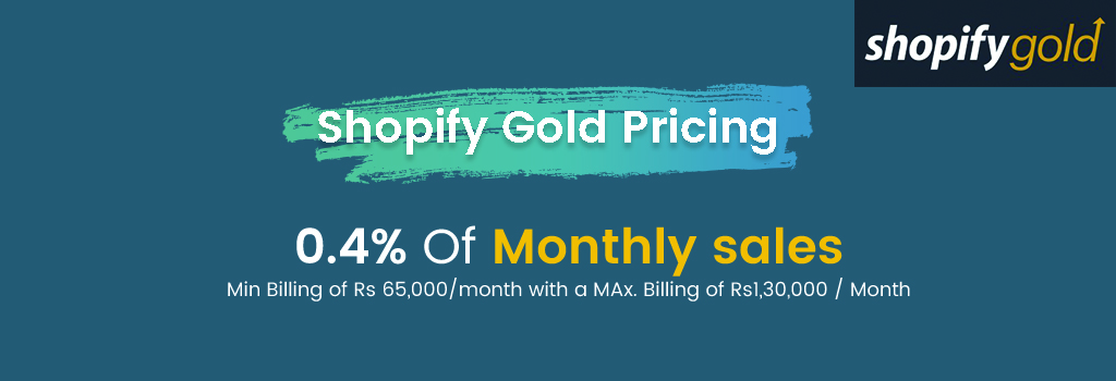 Shopify Gold Pricing
