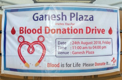 Blood Donation Camp - Metizsoft