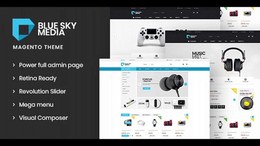 Bluesky - Magento 2 Theme