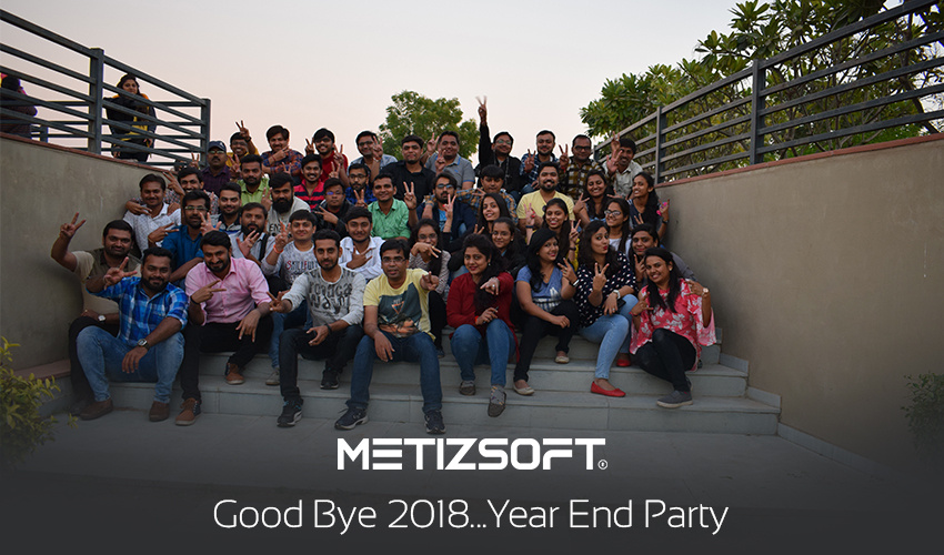 Finally Say Good Bye 2018…! Year End Party