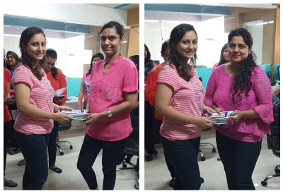HR Girls Celebrating Womens Day at Metizsoft