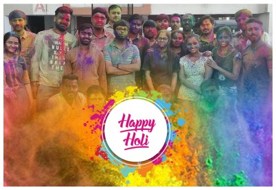 Holi Celebrations By Metizsoft