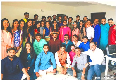 Team Metizsoft Diwali 2019