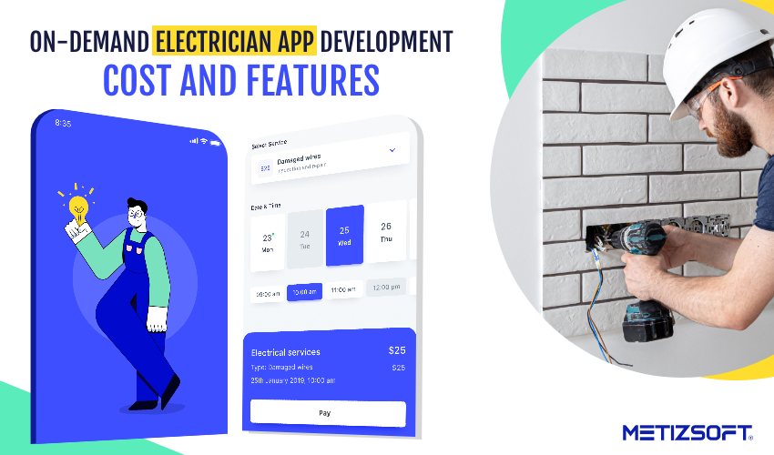 On-Demand Electrician App