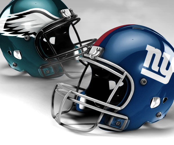 Image result for giants eagles helmets
