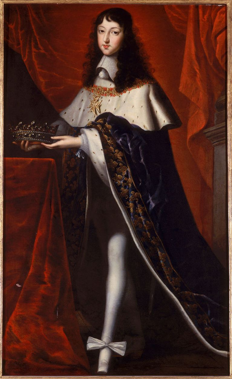 Oil Painting of Phillippe I, duc d'Orleans