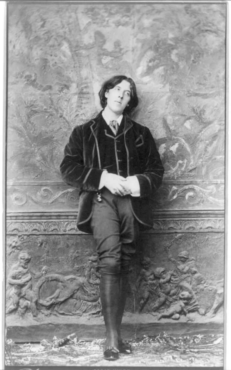 Photograph of Oscar Wilde by Napoleon Sarony