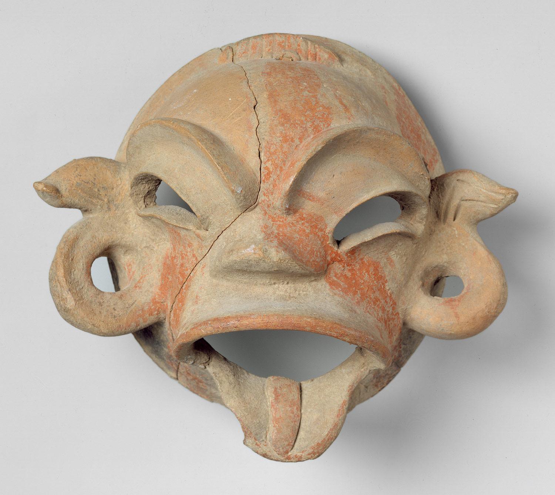 Mask Mexico Tlatilco 206