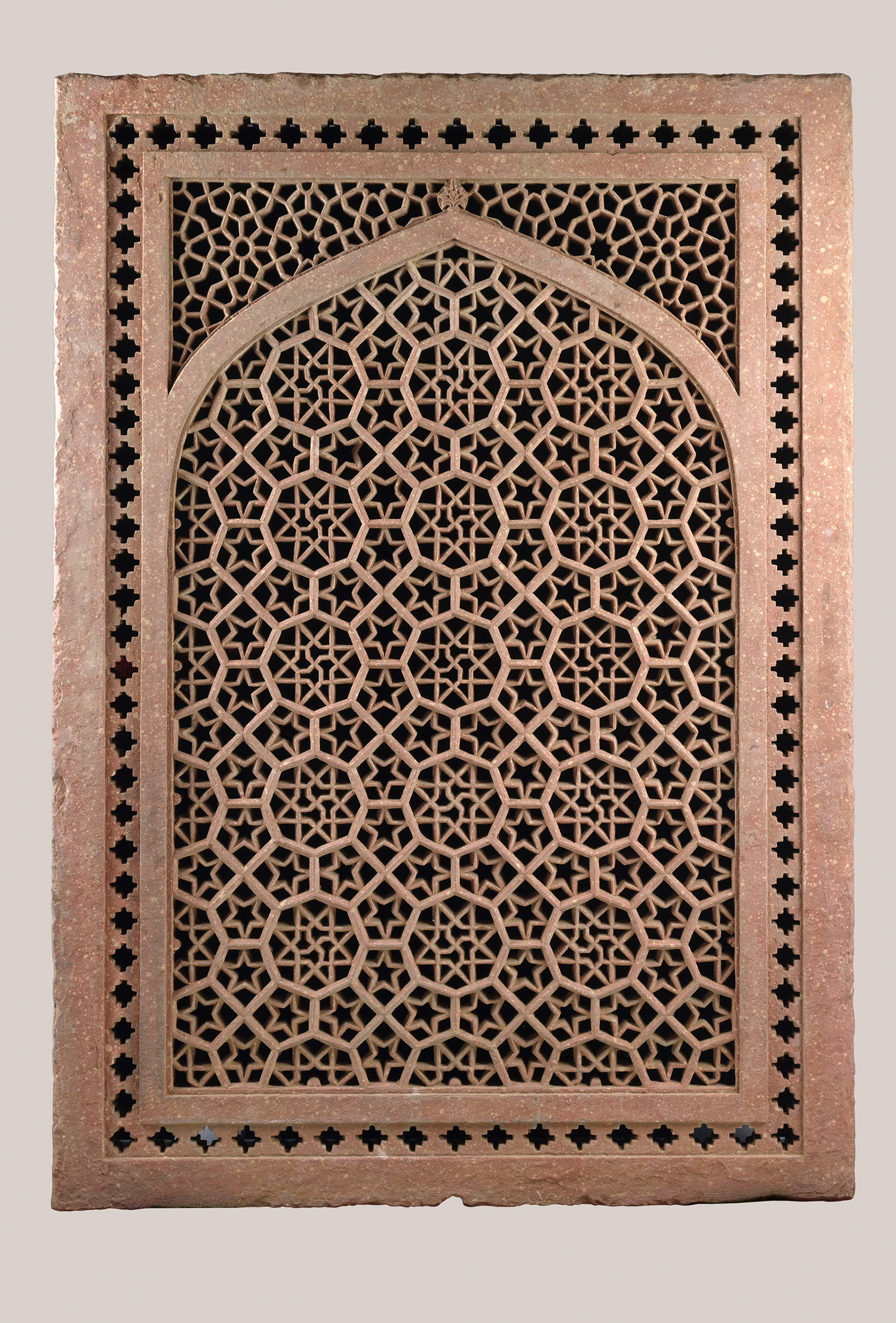 Jali Screen One Of A Pair Probably From Fatehpur Sikri India 67 2