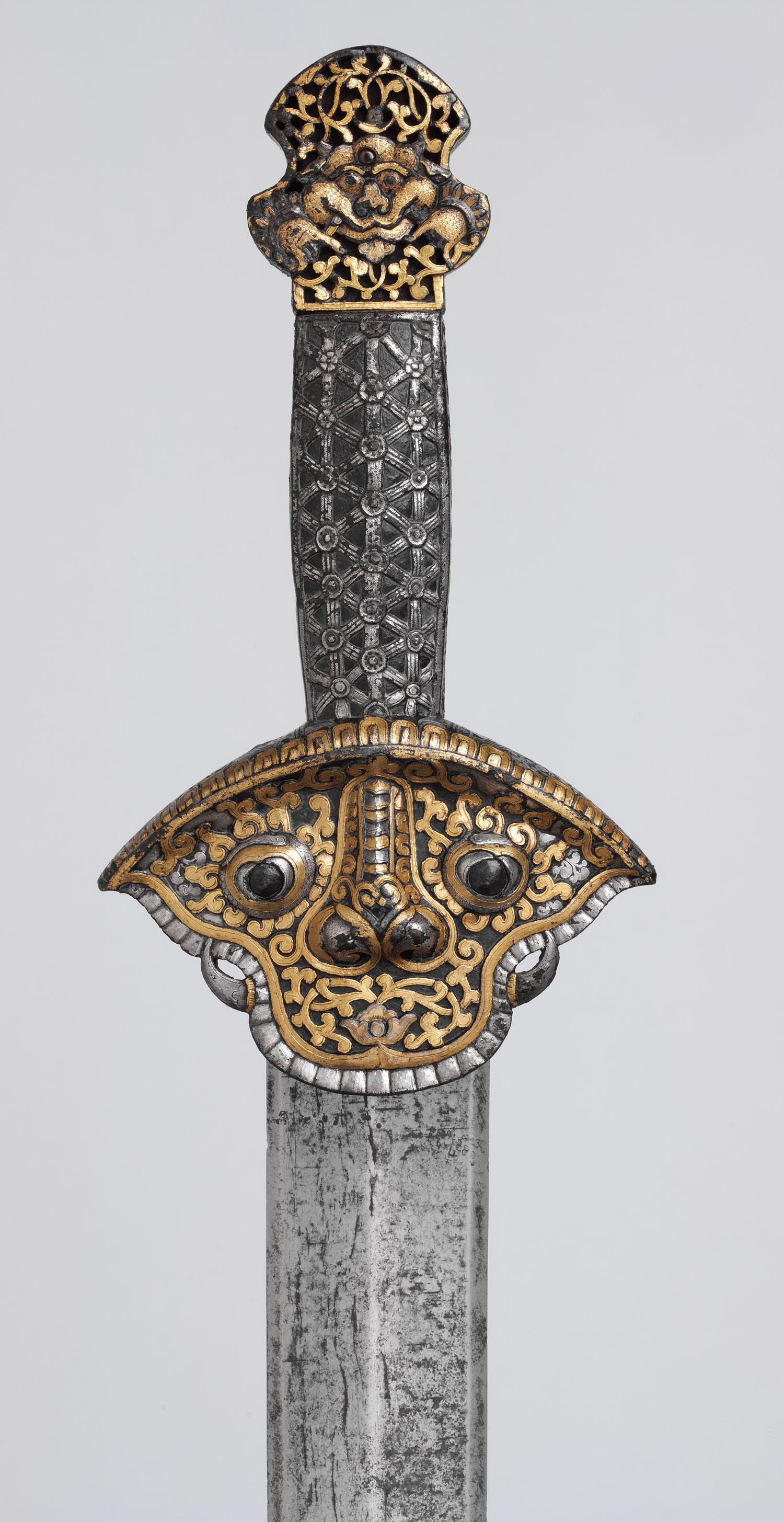 Épée du XIVe-XVIe siècle