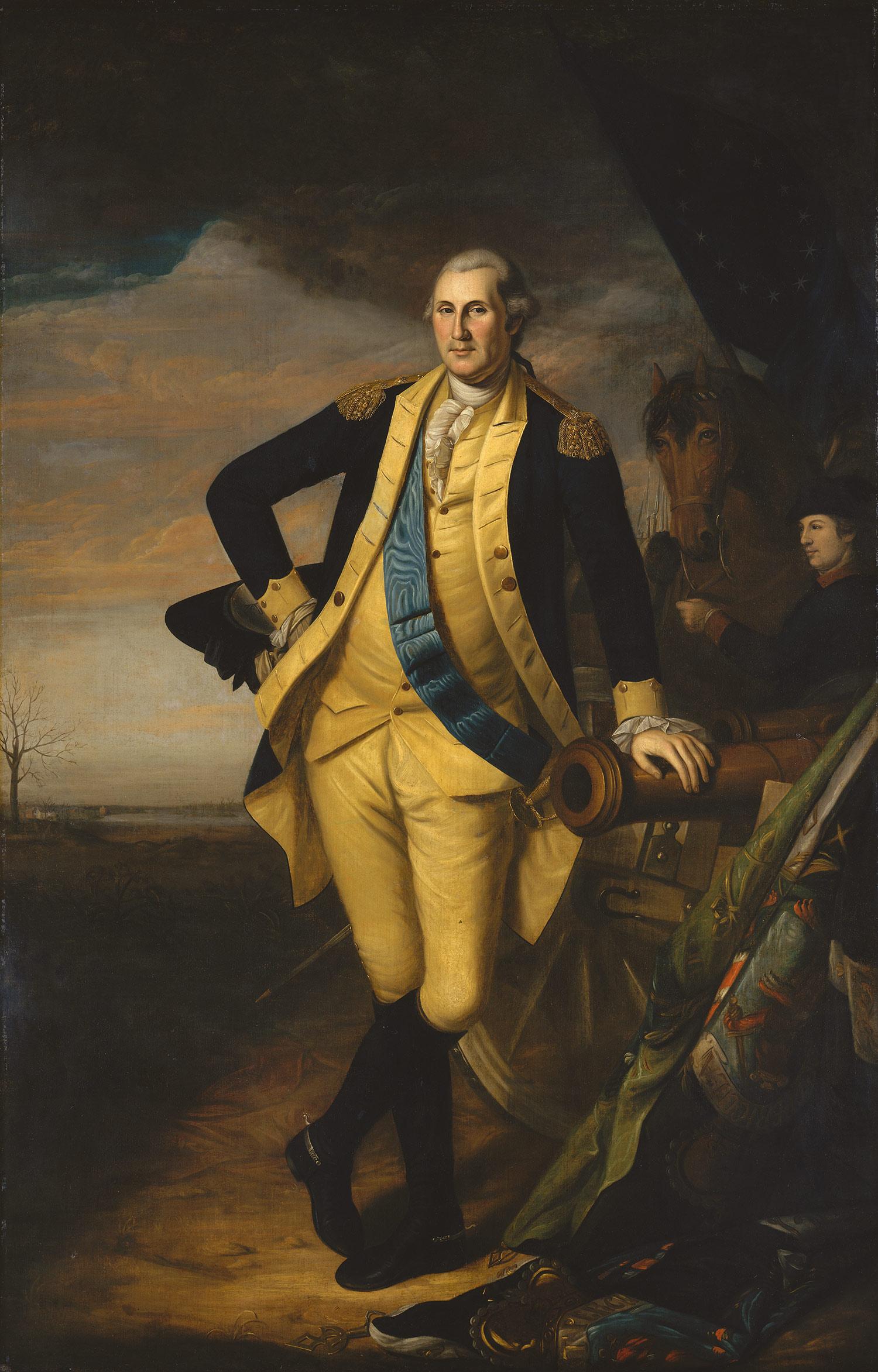 Charles Willson Peale George Washington 97 33