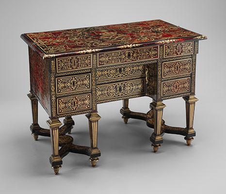 small desk with folding top bureau brise