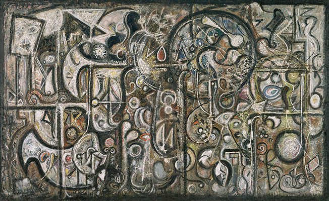 Abstract Expressionism Symphony No. 1, The Transcendental