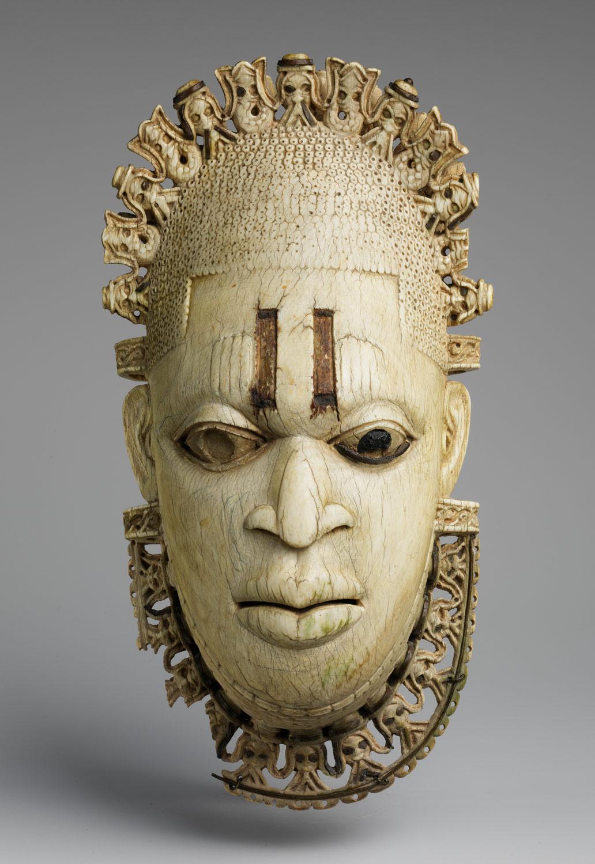 Queen Mother Pendant Mask Iyoba