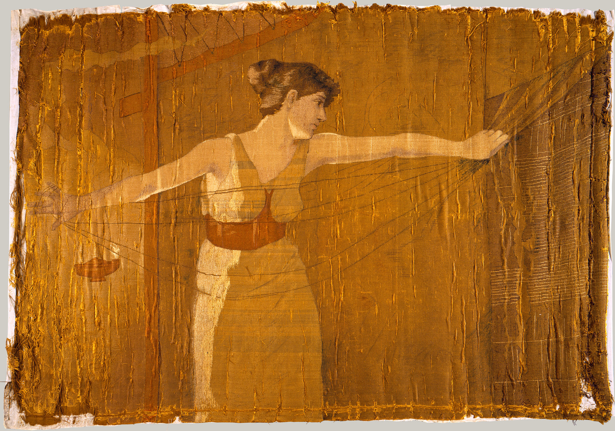 Resultado de imagem para Penelope Unraveling Her Work at Night (1886),
