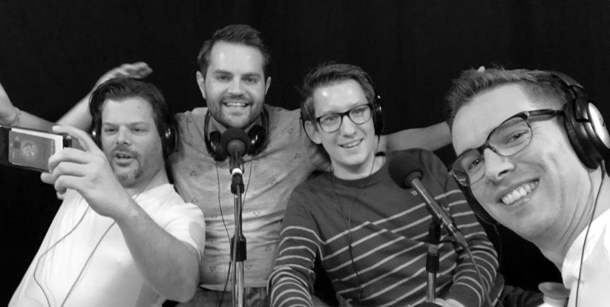 S01E02 – Games, Internet en Opvoeding met Floris, Joost, Jurian en Randal