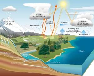 Water cycle  Met Office